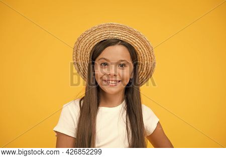 Hats Are Chic And Great Way To Protect Against Harmful Rays. Summer Vacation Outfit. Ready To Relax.