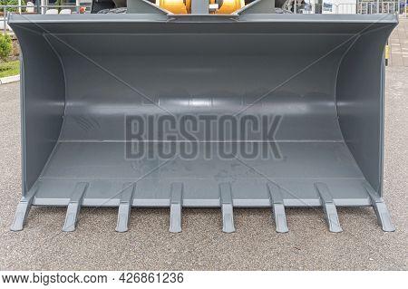 Big Bucket Loader Heavy Equipment Machine Construction Site