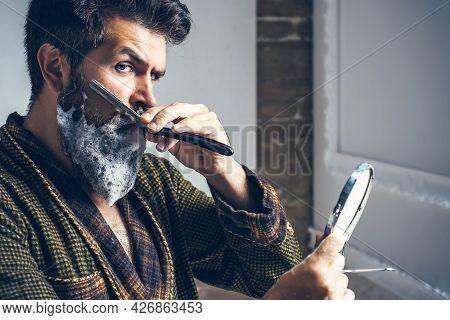 Barber Shop Studios.sandalwood Shaving Cream. Hair Preparation Is Just For The Dashing Chap. Moustac