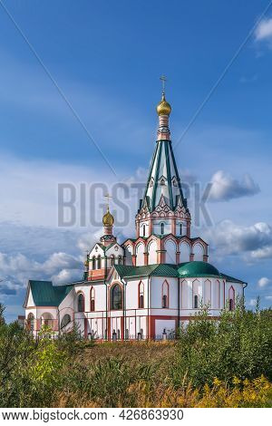 Church Of The Reigning Icon Of The Mother Of God In Rostov, Russia