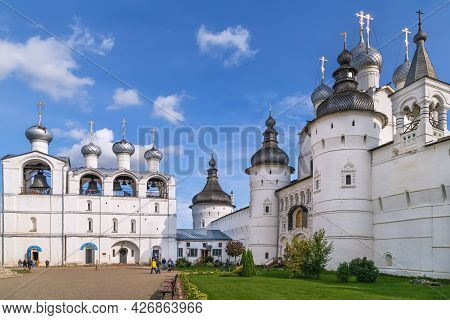 Church Of The Entry Of The Lord Into Jerusalem In The Belfry In Rostov Kremlin, Russia