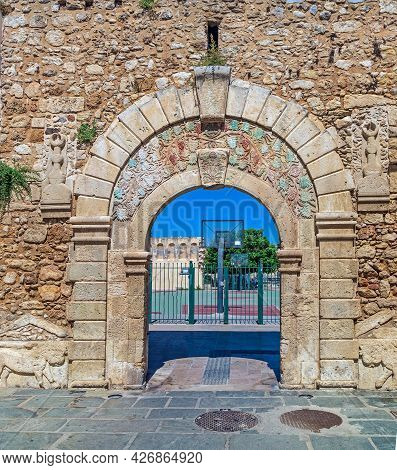 Venetian Gate Or Great Gate, Dating From 1568, Mark The Transition From The Old Town To The New Town