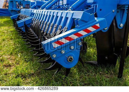 Working Bodies Of Equipment For Land Cultivation. Agricultural Machinery.