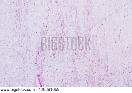 The Metal Background Is Painted In A Pale Pink Color With Brush Marks