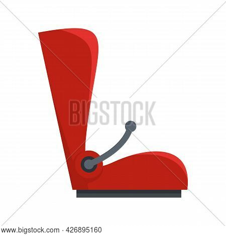 Carry Baby Car Seat Icon. Flat Illustration Of Carry Baby Car Seat Vector Icon Isolated On White Bac