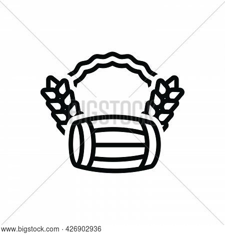 Black Line Icon For Baisakhi Punjab Harvest Ritual Farming Vaisakhi Auspicious Celebration Festival
