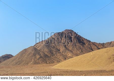 These Are The Colorful Limestone Mountains Of The Arava Desert, Israel