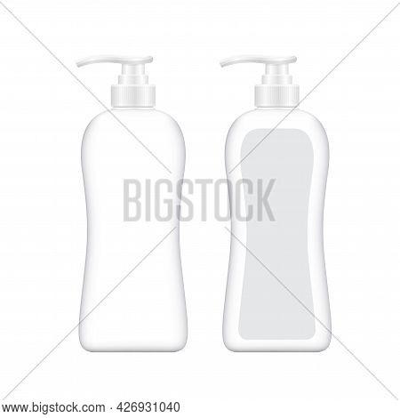Bottle Plastic For Packaging Liquid Shower Soap Hygiene, Mock-up Bottle Soap Gel, Bottle Body Soap G