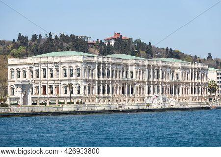 Ciragan Palace In Ortakoy, Istanbul City, Turkey
