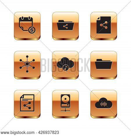 Set Financial Calendar, Share File, Hard Disk Drive On Sharing Network, Music Streaming Service, Net