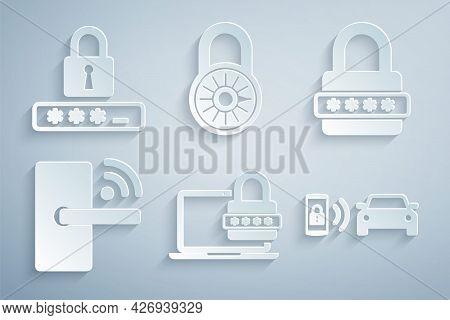 Set Laptop With Password, Password Protection, Digital Door Lock Wireless, Smart Car Alarm System, S