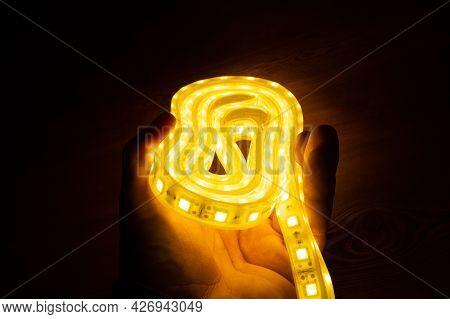 Shining Diode Tape Coil, Illuminate Led Strip.