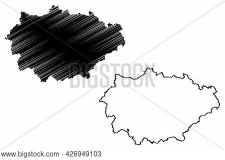 Marburg-biedenkopf District (federal Republic Of Germany, Rural District Giessen Region, State Of He