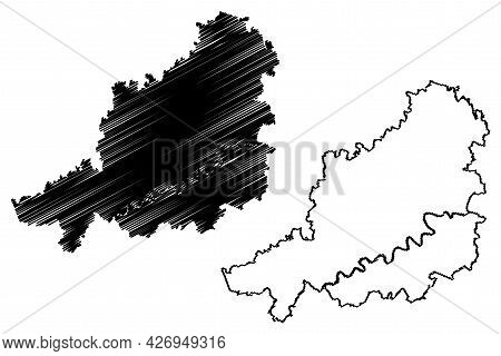 Muhldorf District (federal Republic Of Germany, Rural District Upper Bavaria, Free State Of Bavaria)