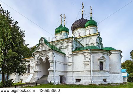 Cathedral Of The Theodore Of Stratelates In Feodorovsky Monastery In Pereslavl-zalessky, Russia