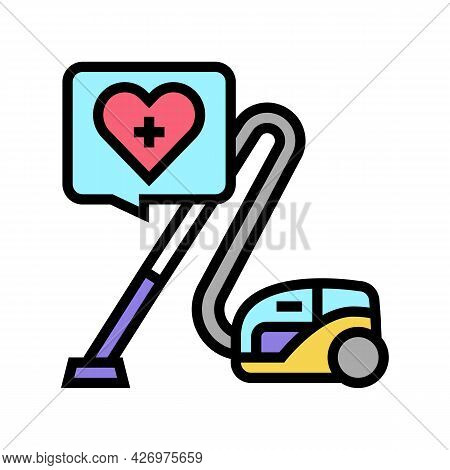 Cleaning Homecare Service Color Icon Vector. Cleaning Homecare Service Sign. Isolated Symbol Illustr