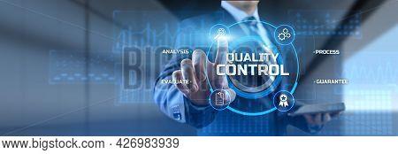 Quality Control Assurance Standard Certification Technology Concept