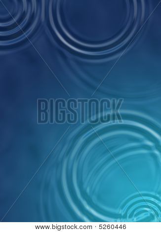 (This file is in PSD format) A conceptual background/hero image of pond ripples conveying a serene feeling. poster