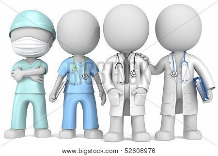 Doctors And Nurse.