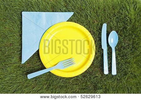 Grass Picnic Arrangement