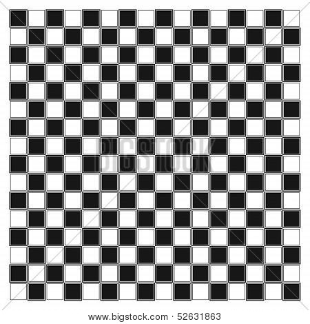 Render Of Checker Board