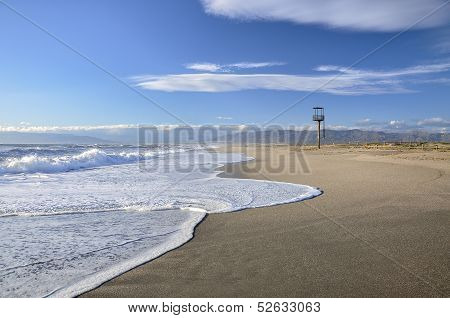Beach watch tower, Nijar (Spain)