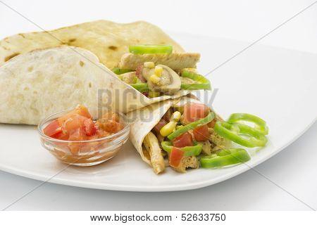 Fajitas, Mexican Food