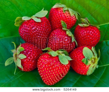 Strawberry Cluster