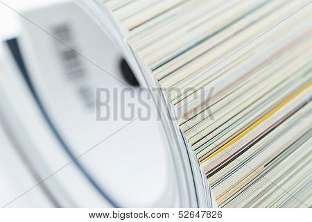 Pile Of Magazines, Shallow Dof