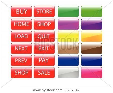 Web Store Icon Set