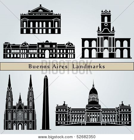 Buenos Aires Landmarks And Monuments