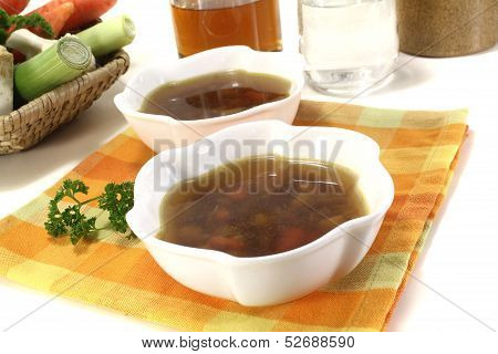 Fresh Beef Consomme
