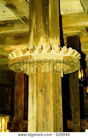 Wooden Mill Gear