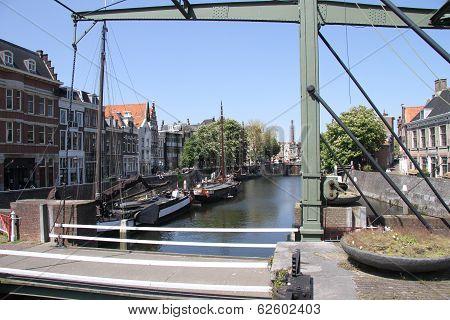 Historic Delfshaven in Rotterdam