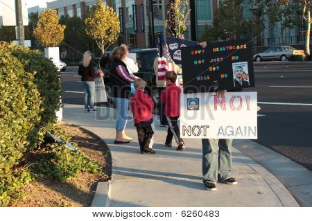 Anti Health Care Reform rally