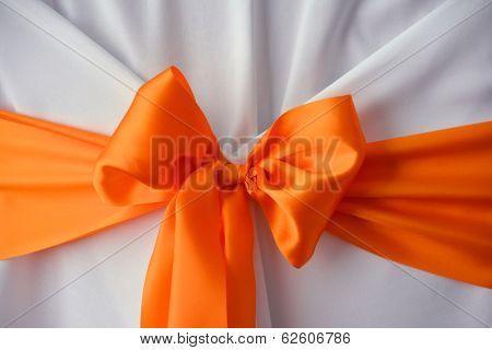 Wedding bow decoration