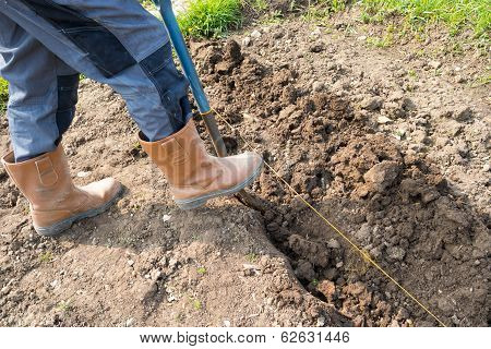 Digging a Trench