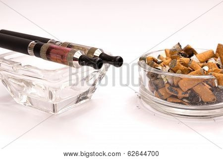 Concept Cleaner Smoking
