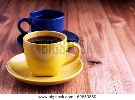 Colorful Coffee Cups.