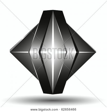 Abstract 3D  Logo Template