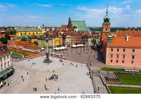 Warsaw City, Castle Square