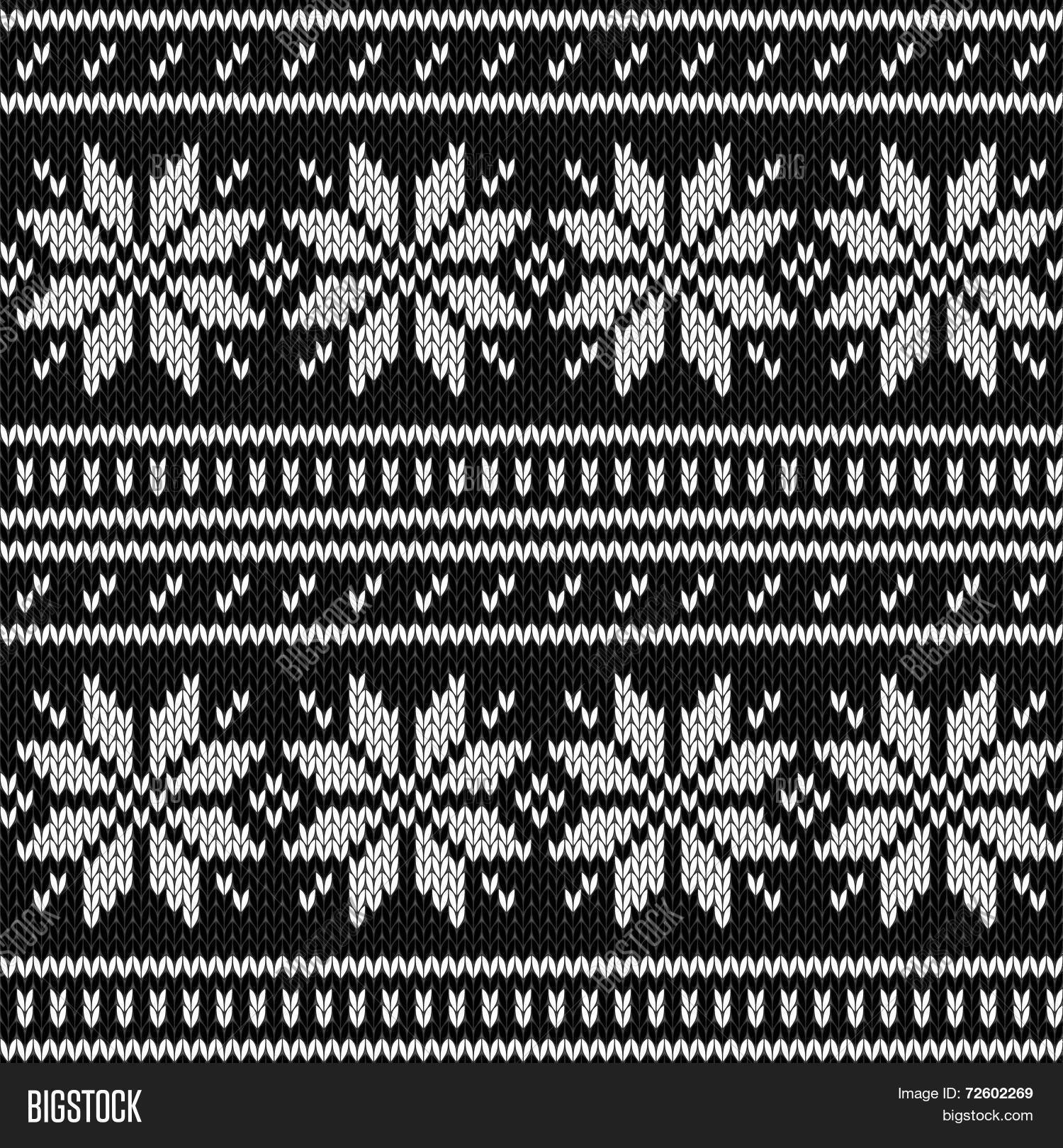 Scandinavian Knitted Vector & Photo (Free Trial) | Bigstock