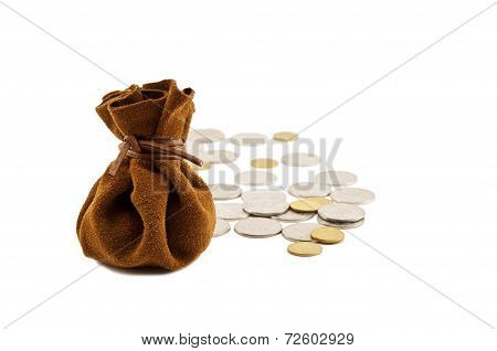Vintage Bag Money