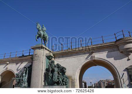 Leopold Ii Statue - King Of The Belgians