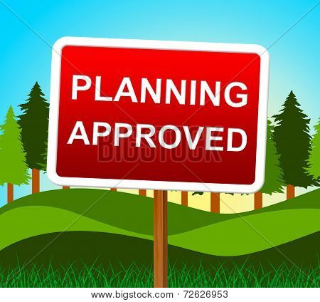 Planning Approved Means Plans Assurance And Verified