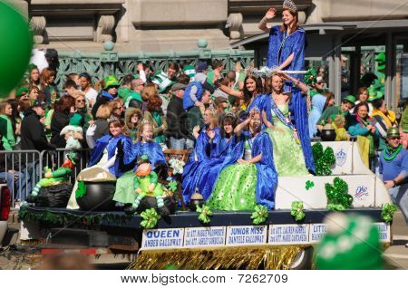 Patricks Day Parade Queen