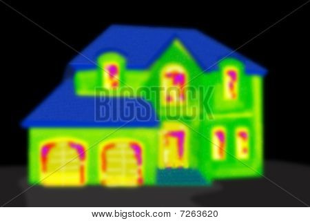 Thermografie Haus F