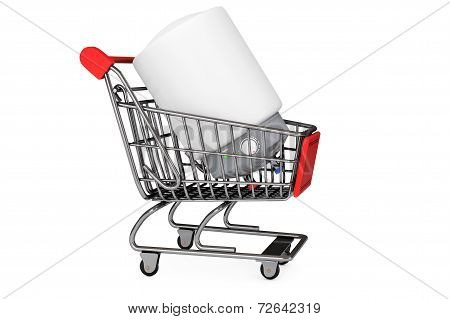 Modern Automatic Water Heater In Shopping Cart