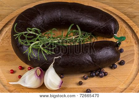 Sausage With Blood, And Herbs