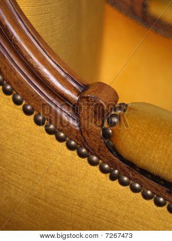 Armrest Of Antique Chair